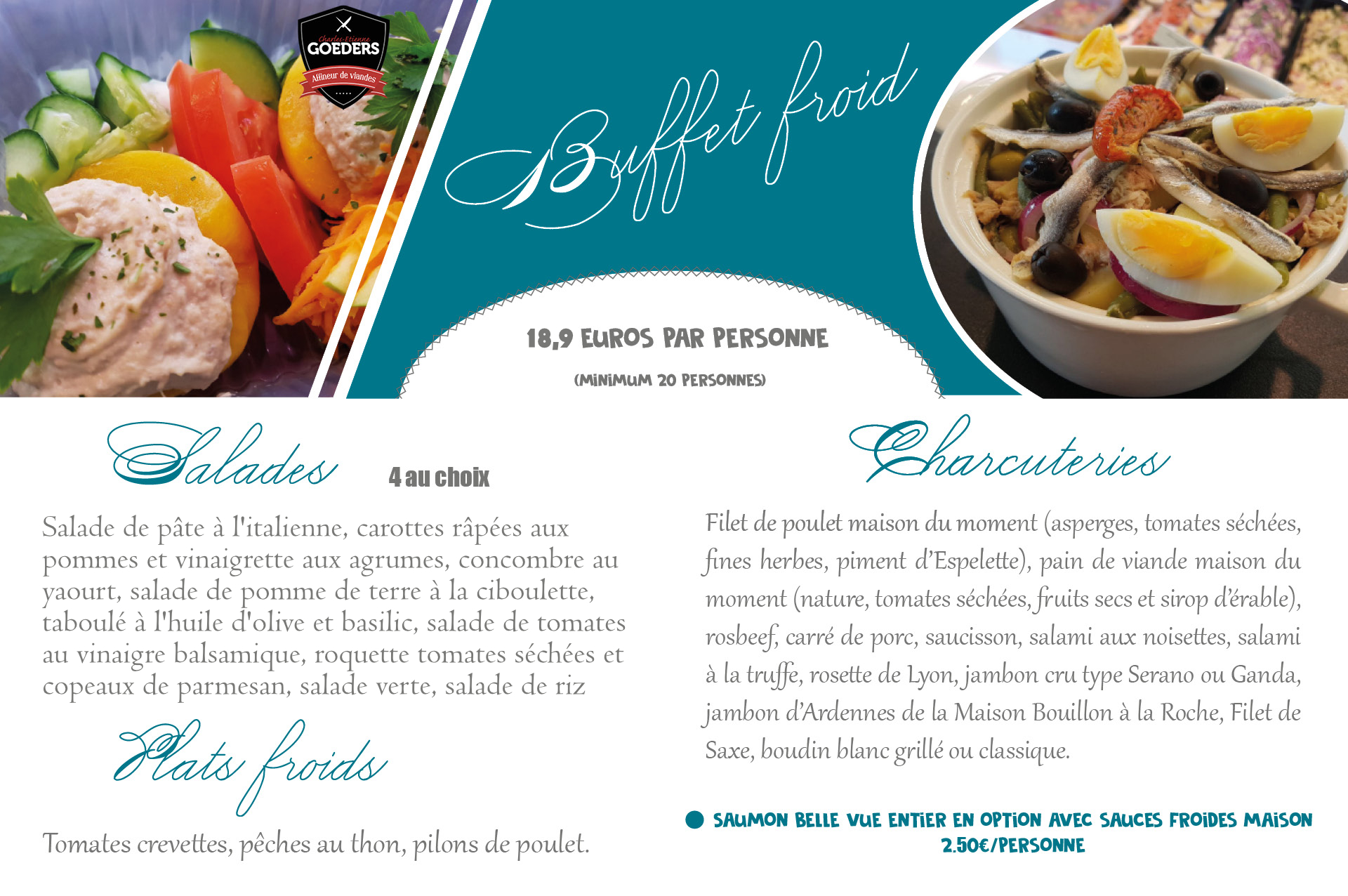 buffet froid bon